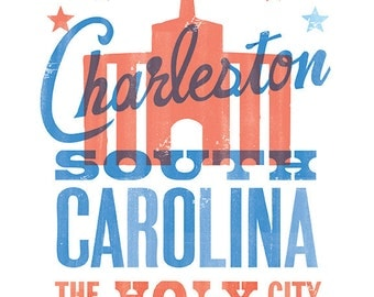 CHARLESTON HOLY CITY Print - 8x10