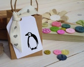 Little Penguin Olive Wood Stamp