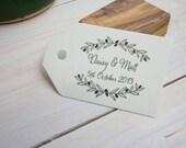 Custom Olive Adorned Olive Wood Stamp