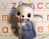 Vintage Squirrel Figurine, Made in Japan