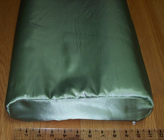 Satin Pillowcase For Tempur Pedic Neck Pillow Contour Shaped