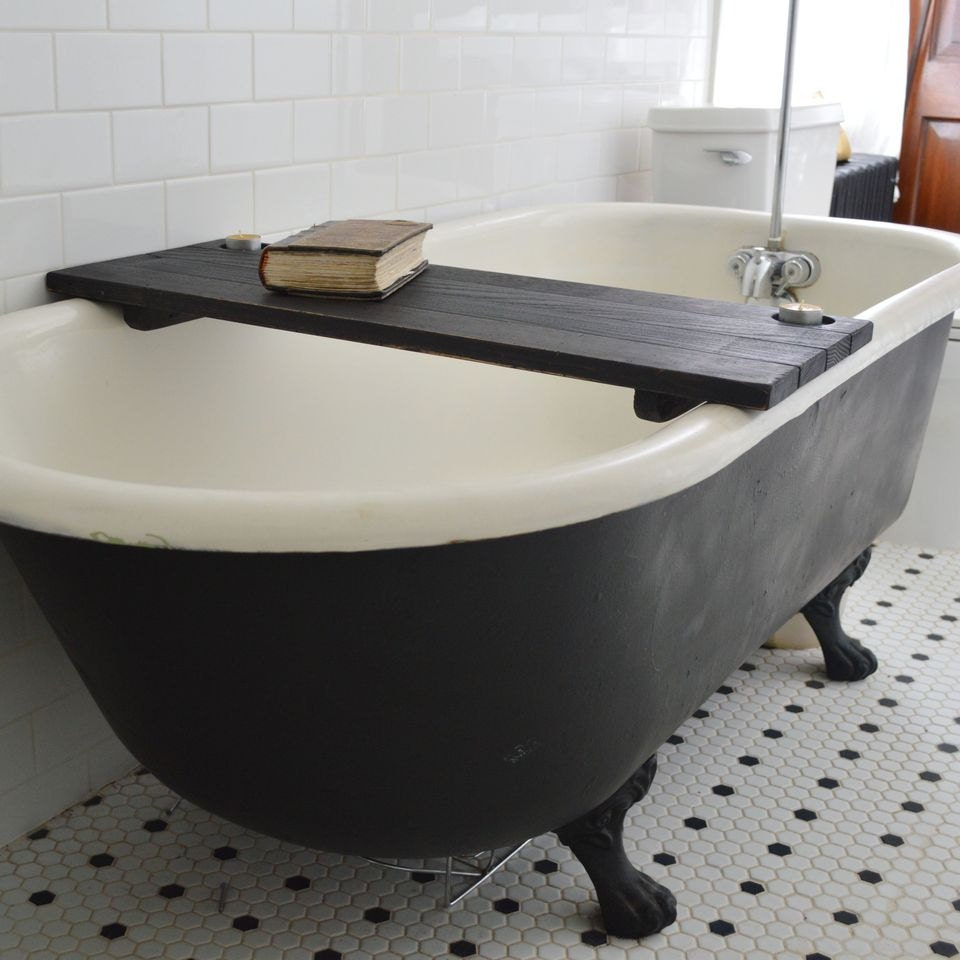 black wood bathtub caddy tub caddy bathtub tray bathroom