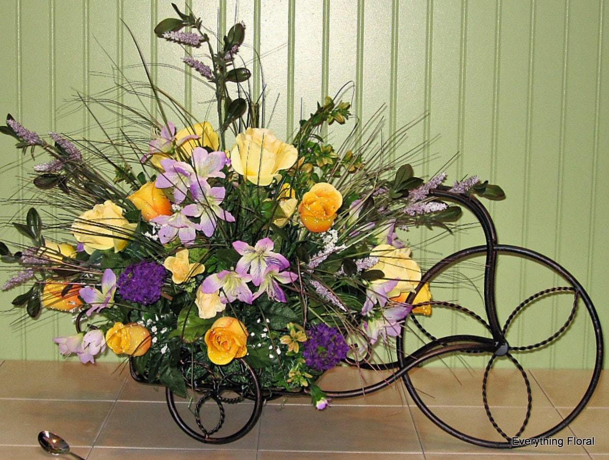 Easy Spring Flower Arrangement Idea For Your Entry |Large Spring Floral Arrangements