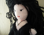 Bellatrix Lestrange doll knitting pattern Harry Potter
