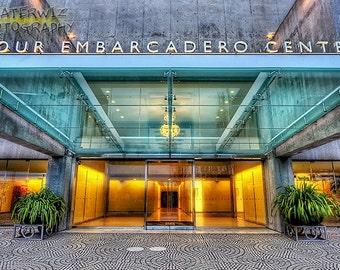 Four Embarcadero Center San Francisco 14 X 26 Fine Art  Photographic Print