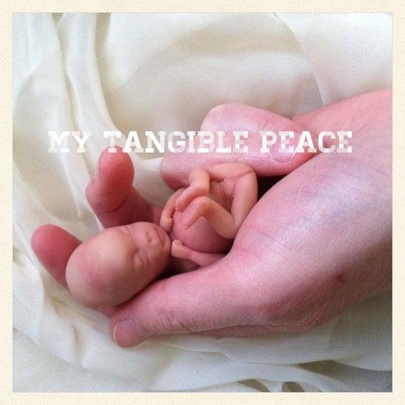 ooak 11 week gestation baby Memorial/Honor Sculpture MADE