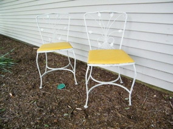 Garden chairs patio chairs salterini wrought iron neva rust chairs