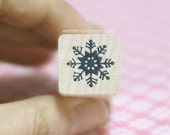 Snowflake Stamp - Ver. 1 (0.75 x 0.75in)