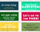 Mother's Coupon Book - Instant Download