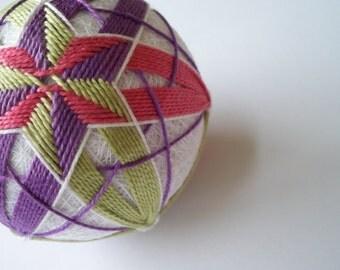 Tropical Star Temari Ball