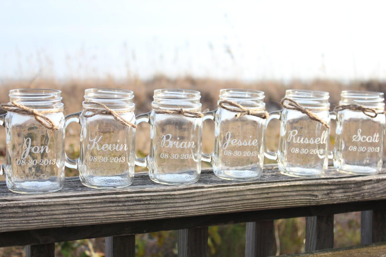personalized keep calm mini mason jars. mason jar wedding favors ...
