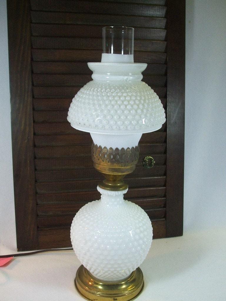 Milk Glass Lamp Shade - home decor - Laux.us