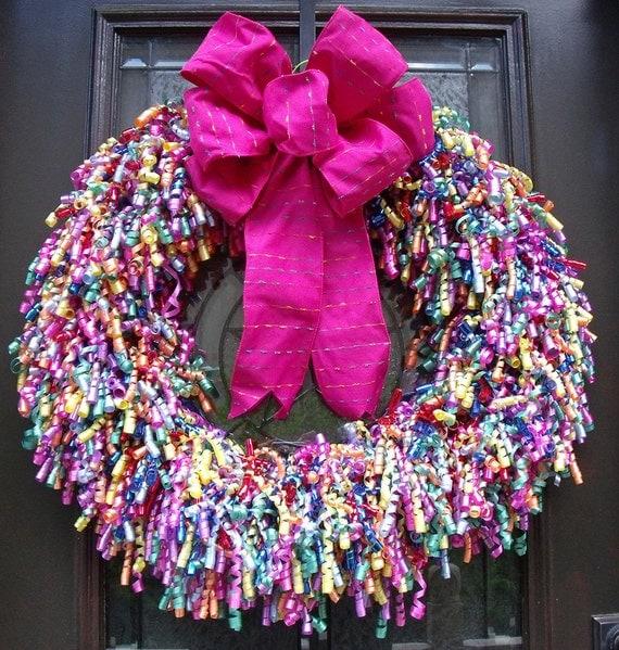 Door Wreaths Birthday Party Wreath Birthday Door Decor