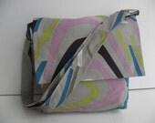 Greyish Mini Messenger Bag- Washable