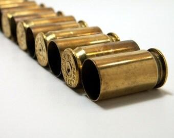 Brass Shell Casings 18 Spent .45 caliber