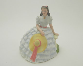Vintage Avon Scarlett O'Hara Figurine - 1983 Collectible Images of Hollywood - Gone With The Wind Figurine