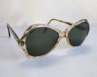 Vintage Pathway Sunglasses, 1980s Oversized Sunglasses with Large Lenses, Non-Prescription Sunglasses
