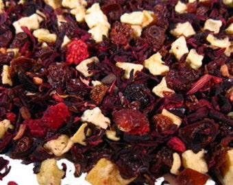 1 oz Wonderful Raspberry Hibiscus herbal tea