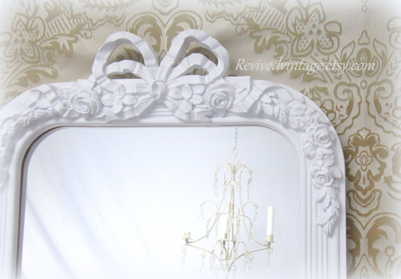 Vintage Wall Decor Nursery : Baby nursery mirror wall decor vintage by