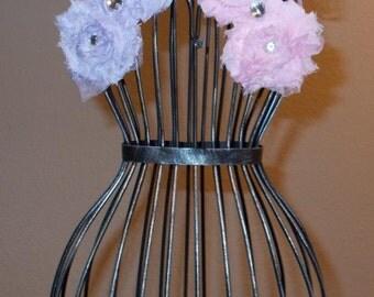 Shabby Rosette Headband