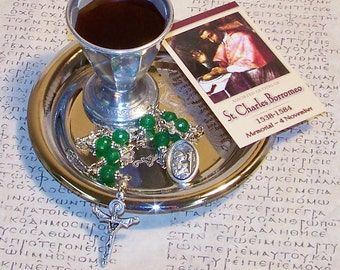 Unbreakable Chaplet of St. Charles Borromeo - Patron of Dieters, Bishops, Spiritual Leaders and Against Stomach and Intestinal Disorders