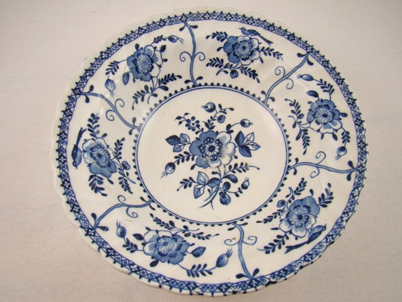 Johnson Brothers China Blue And White Johnson Brothers Vintage Blue