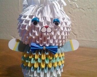 3d origami Bunny boy KIT