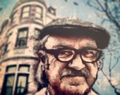 """Royal Tenenbaum's """"Archer Avenue"""" - 12x18 Officially Signed, Dated and Hand-Stamped Art Print"""