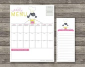 Meal Planner . Digital Collection . Mayi Carles