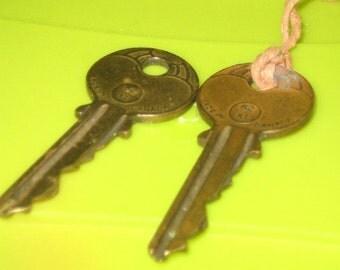 Two Vintage Canadian Keys
