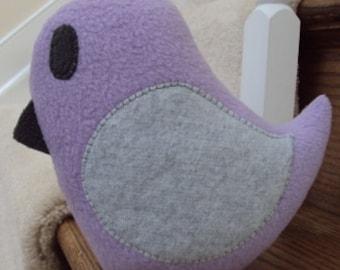 Plush Bird Pillow - Medium sized - Custom Bird Pillow