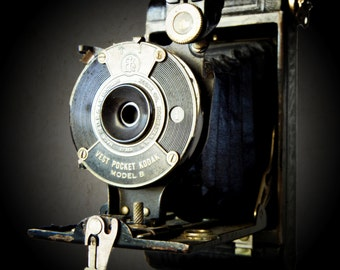 Vintage Vest Pocket Kodak Photographic Fine Art Print 5 x 5