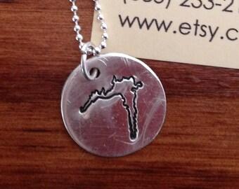 Rushford Lake Charm Necklace