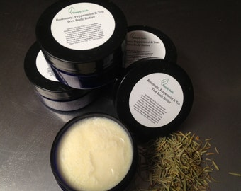 Rosemary Peppermint and Tea Tree Body Butter