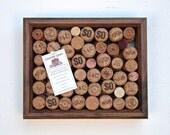 Champagne wine cork message board