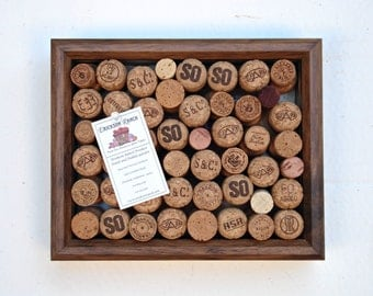 Champagne wine cork message board