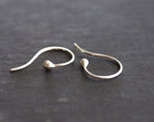 Sterling Silver Hook and Ball Earrings