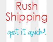 Rush Shipping (3-4 Days)