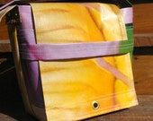 Reserved for Amy: Upcycled Should Bag, Sizzling Summer Banner