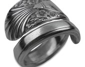 Silver Spoon Ring - Radiance - Antique Spoon Jewelry