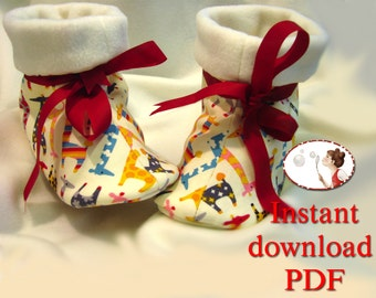 Jolly Boots Sewing Pattern - PDF - Children's Sizes