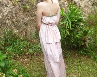 Blossom Viewing deja vu maxi dress, elegant, playful, romantic, sm/ med