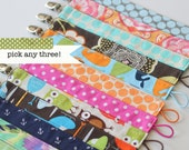 Universal Pacifier Clips, Pick any 3