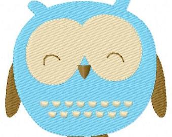 Owl Machine Embroidery Design // Joyful Stitches