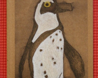 I am on my way Penguin Eco-journal or sketchbook