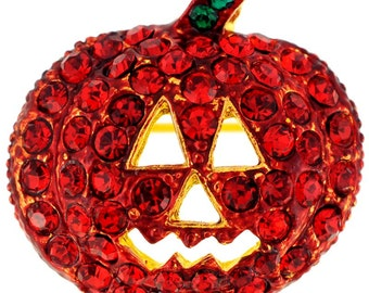 Siam Pumpkin Pin Halloween Pin Brooch 1000812