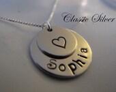 Who do you Love - Sterling Silver Brag Keepsake Pendant - Great Gift