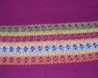 Sale Wide mixed trim 12 yards