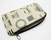 Waterproof -iPhone 6S,iPhone 6S plus,iPhone 6/5/5S/5C Case /Sleeve / padded zipper pouch wallet with 2 interior pocket