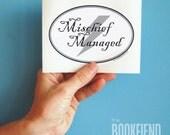 Mischief Managed bumper sticker